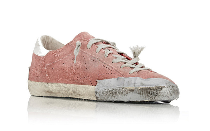 https://footwearnews.com/2016/business/offbeat/golden-goose-pre-distressed-sneaker-controversy-statement-253430/
